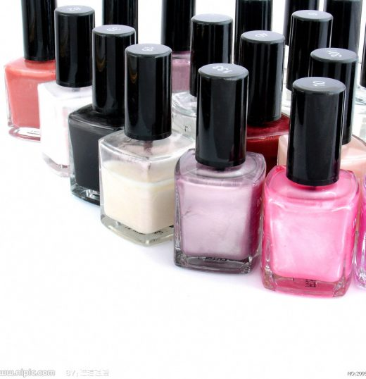 Square bottle nail polish