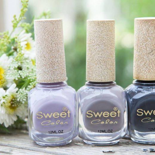 Candy colors nail polish